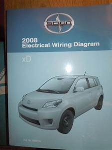 2008 Toyota Scion Xd Electrical Wiring Diagram Service