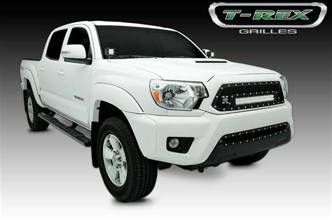 Toyota Tacoma Lights by 2012 2014 Toyota Tacoma Torch Series Led Light Grille 1