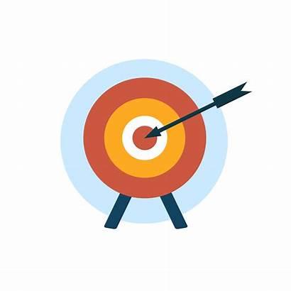 Vector Target Mission Icon Management Business Freepik