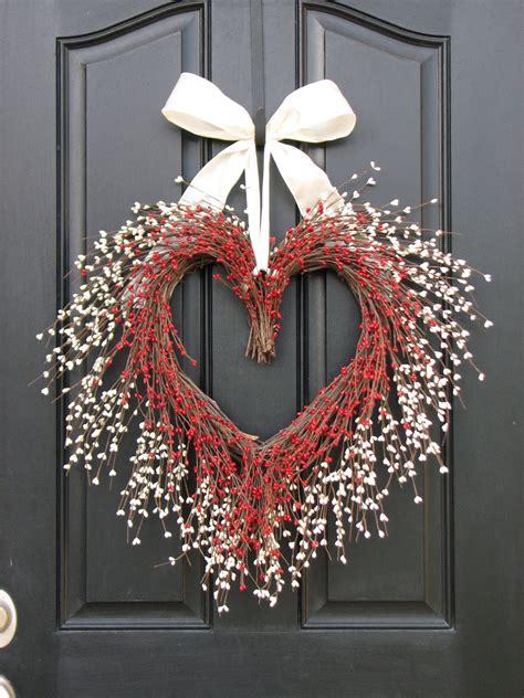 the kissing wreath door wreaths valentine s day wreath