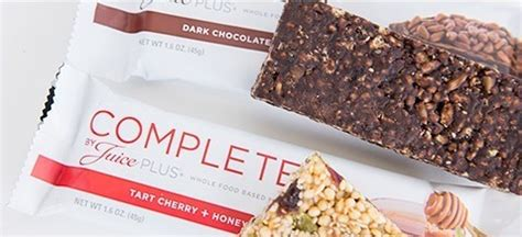 Complete Bar by Complete Nutrition Complete By Juice Plus Juice Plus