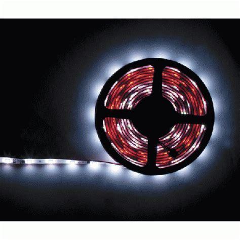 led strip lights with adhesive backing led white light strip 16 39 long adhesive backed 12 volt