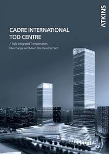 First Page Design For Project Cadre International Tod Centre By Asiaatkinsarchitecture