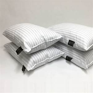 hotel stripe bed pillows hotel quality With best hotel quality pillows