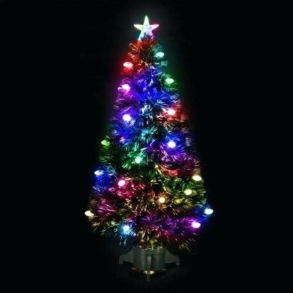 bq fibre optic christmas trees 3 ft fiber optic trees works org