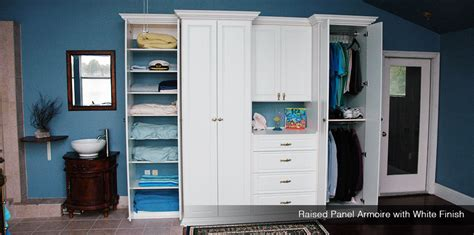custom closet armoires freestanding closets organizers