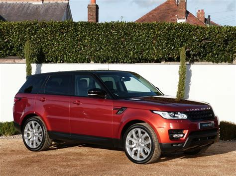 Used Firenze Red Land Rover Range Rover Sport For Sale