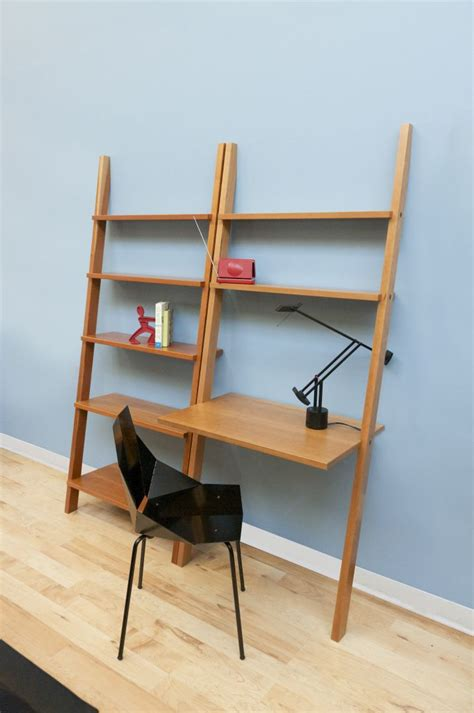 Leaning Desk Bookcase by Linden Leaning Bookcase The Century House Wi