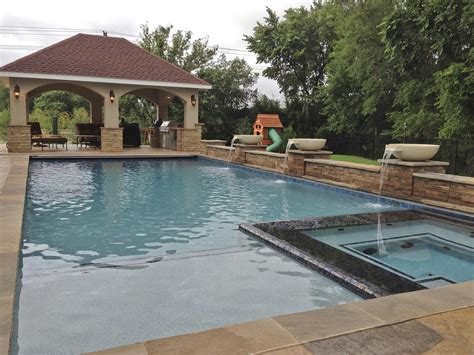 pool patio and spa set 25 impressive inground tub and pool ideas for your