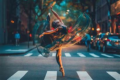 4k Ballet Dancer Road Wallpapers Dance Ballerina