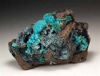 Chrysocolla Quartz Minerals