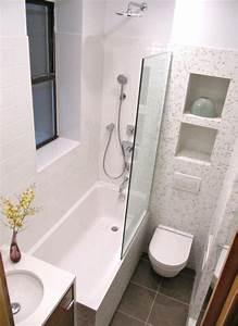 Aménager Une Petite Salle De Bain : amenager une petite salle de bain avec baignoire die ~ Melissatoandfro.com Idées de Décoration