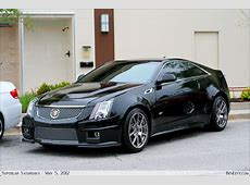 Black Cadillac CTSV BenLevycom
