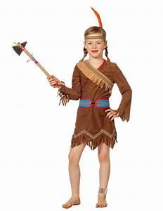 Indianer Kostüm Mädchen : indianer prinzessin kost m f r m dchen braun kost me f r kinder und g nstige faschingskost me ~ Frokenaadalensverden.com Haus und Dekorationen
