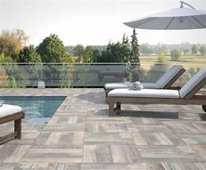 carrelage exterieur sol terrasse ou toit With carrelage terrasse piscine exterieure