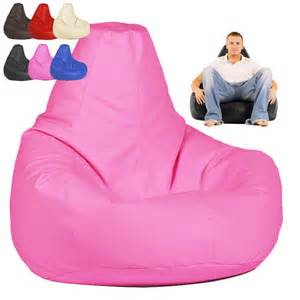 high back bean bags bag gaming pod chair beanbag faux