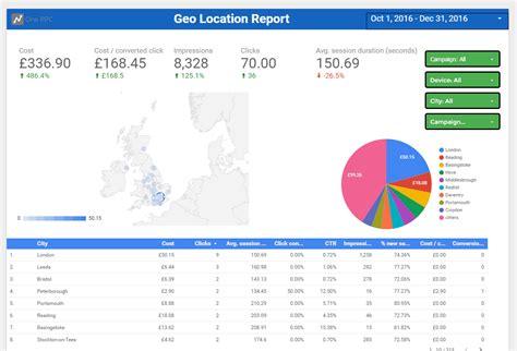 adwords data studio template report   page premade
