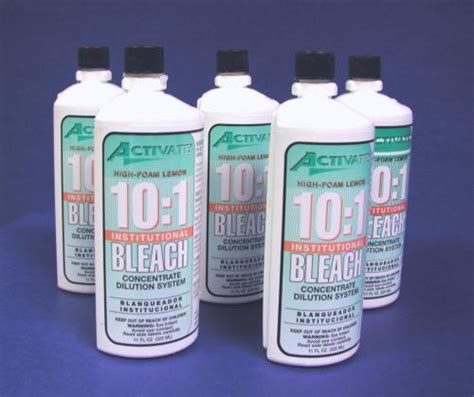 Bleach Spray Bottle By Activate For Hospital Laboratories