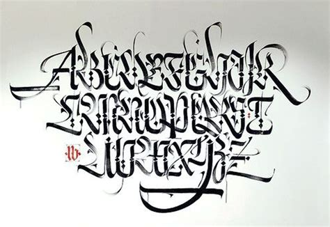 Drawing Graffiti Alphabet Letter A Z