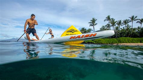 Naish iSUP Maliko 14ft x 27in x 6in Carbon Paddleboard ...