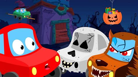 red car trick  treat halloween