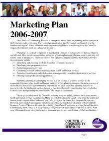 Sample Marketing Plan Example
