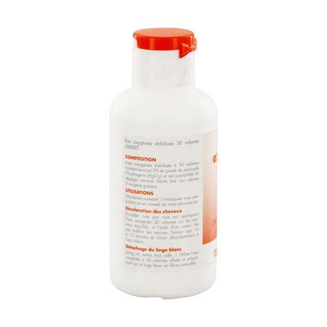 eau oxygenee 130 volumes gilbert eau oxyg 233 n 233 e 30 volumes flacon 125 ml pharmacie en ligne prado mermoz