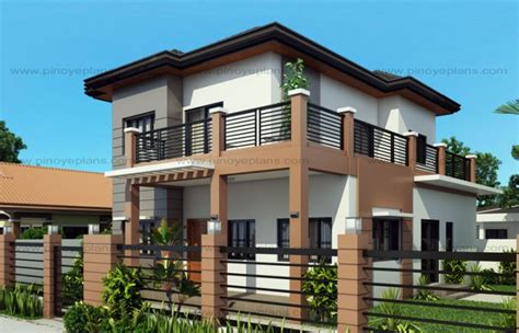 marcelino  bedroom  storey mhd  pinoy eplans modern house designs small