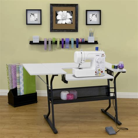 studio designs sewing table studio designs eclipse sewing and craft table overstock