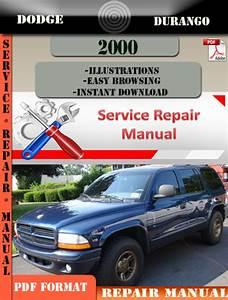 Dodge Durango 2000 Factory Service Repair Manual Pdf Zip