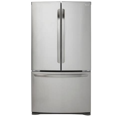 Samsung Counter Depth Refrigerator Home Depot by Lg Door Lg Black Stainless Steel Series 30 Cu Ft 4