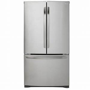 Lg Lfc21776st 20 9 Cu  Ft  French Door Refrigerator In Stainless Steel  Counter Depth