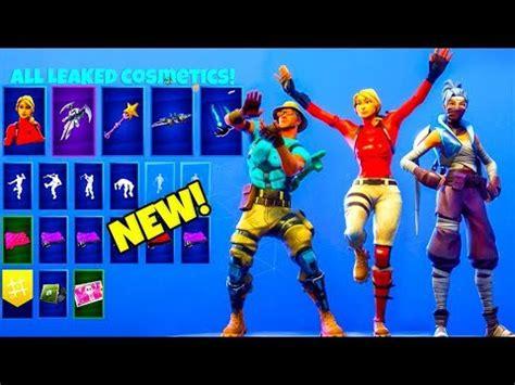 leaked fortnite skins emotes ninja drum major