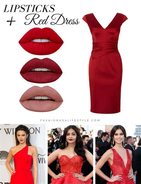 what color lipstick with dress how to a lipstick with the color of your dress