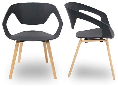 chaise salle a manger grise charming salle a manger grise design 7 lot de 2 chaises