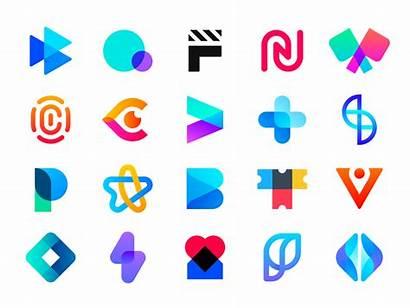 Dribbble Startup Logos Behance Tech Company Letter