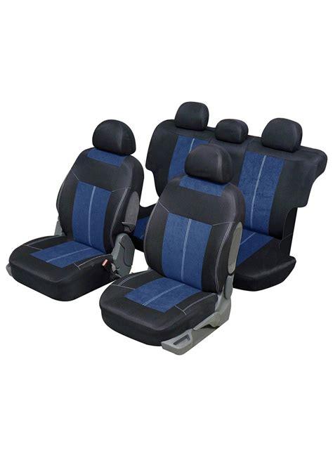 housse siege 4x4 housse siège auto universelle pour 4x4 et suv bleu et noir
