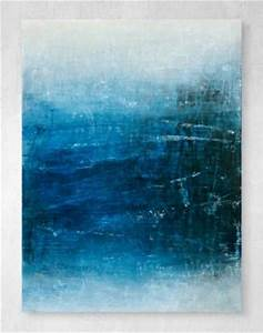 best 20 blue abstract painting ideas on pinterest blue With what kind of paint to use on kitchen cabinets for abstract ocean wall art
