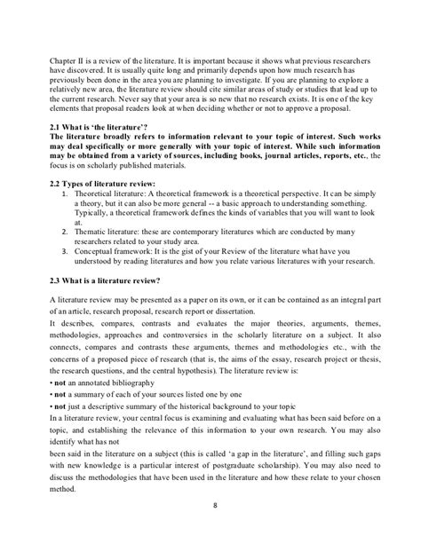 detailed outline  research proposal