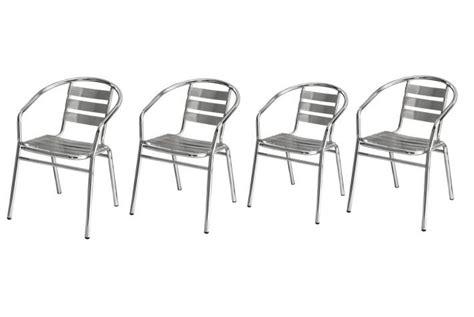 chaise bistrot pas cher lot de 4 chaises de bistrot odeon design pas cher sur