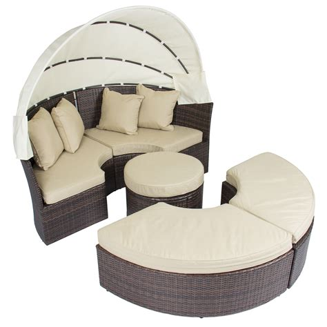 outdoor sofa with canopy outdoor patio sofa furniture round retractable canopy