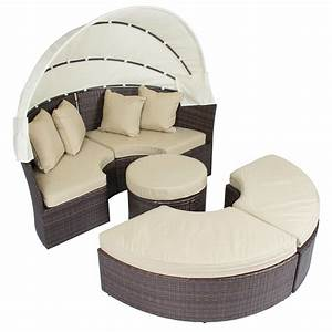outdoor patio sofa furniture round retractable canopy With why choosing rattan outdoor daybed with canopy
