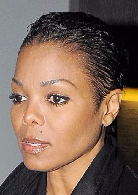 janet jackson short cut black celebrity haircut