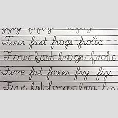 Students Should Still Learn Cursive Writing View