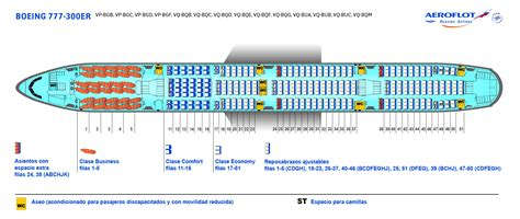 plan si es boeing 777 300er air flota de aviones aeroflot