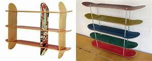 Regal Selber Bauen : skateboard regal selber bauen aus recycelten skateboards ~ Lizthompson.info Haus und Dekorationen