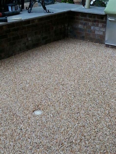 epoxy pebble patio naturalstonefx projects patio