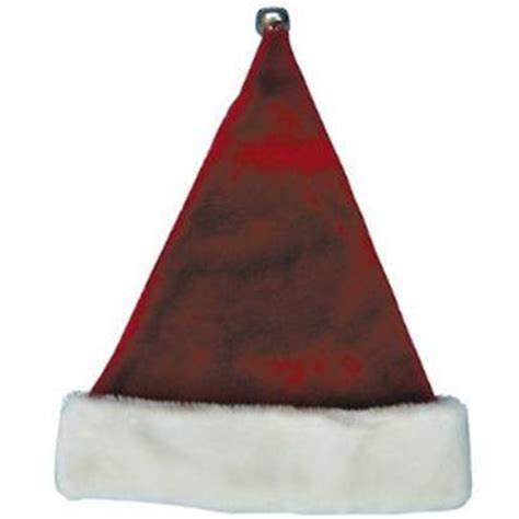 santa hat with bell 16in