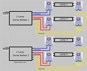 31 4 Lamp T12 Ballast Wiring Diagram
