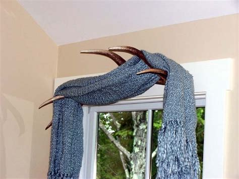 deer antler curtain holders 17 best images about house ideas on window